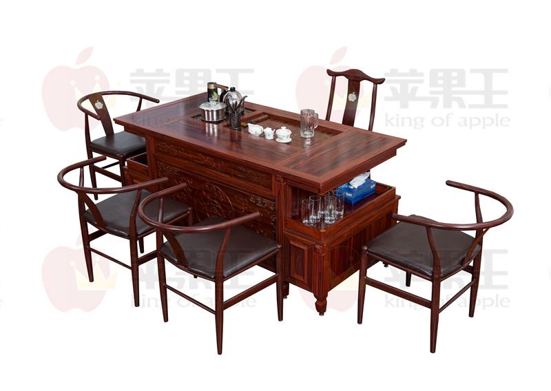 全铝定制茶道桌椅组合